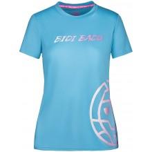 Tee-Shirt Bidi Badu Femme Evita Basic Logo Bleu