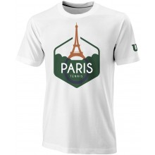 Tee-Shirt Wilson Performance Paris Blanc
