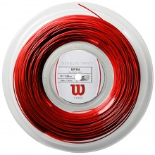 Bobine Wilson Revolve Twist (200 Mètres) Rouge