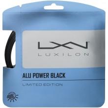 Cordage Luxilon Big Banger Alu Power Black (12 Mètres)