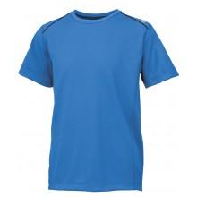 Tee-Shirt Wilson Junior Nvision Elite Crew Club Bleu
