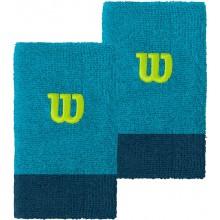 Serre-poignets Wilson Large Bleus