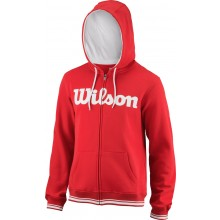 Sweat Wilson A Capuche Team Script Rouge
