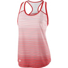 Débardeur Wilson Femme Team Striped Rouge
