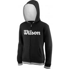 Sweat Wilson Junior A Capuche Team Script Noir