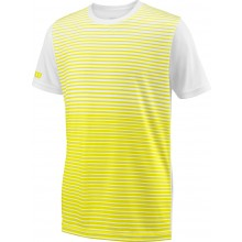 Tee-Shirt Wilson Junior Team Stripped Jaune