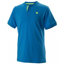 Polo Wilson Junior Uwii Henley Bleu