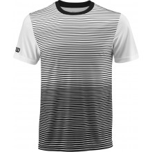 Tee-Shirt Wilson Team Stripped Blanc