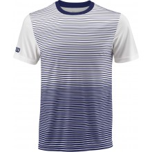 Tee-Shirt Wilson Team Striped Bleu