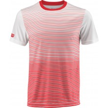 Tee-Shirt Wilson Team Striped Rouge