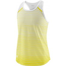 Débardeur Wilson Junior Fille Team Striped Jaune
