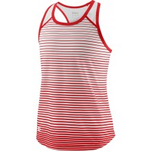 Débardeur Wilson Junior Fille Team Striped Rouge