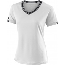 Tee-Shirt Wilson Femme Team Col V Blanc