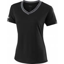 Tee-Shirt Wilson Femme Team Col V Noir