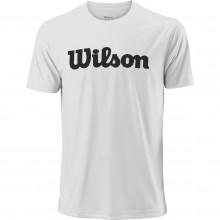 Tee-Shirt Wilson Uwii Script Blanc