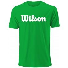 Tee-shirt Wilson Uwii Script Tech Vert