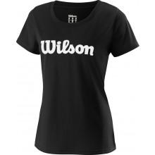 Tee-Shirt Wilson Femme Uwii Script Noir