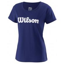 Tee-Shirt Wilson Femme UWII Script Marine