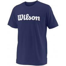 Tee-Shirt Wilson Junior Team Script Marine