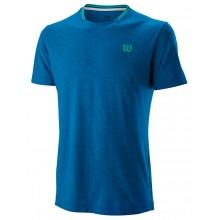 Tee-shirt Wilson Flecked Crew Bleu