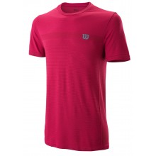 Tee-shirt Wilson Seamless Crew Bordeaux