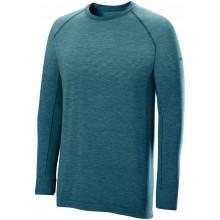 Tee-Shirt Wilson Manches Longues Seamless Crew Bleu