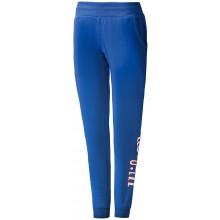 Pantalon Wilson Femme Script Coton Jogger Bleu