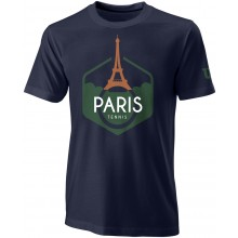 Tee-Shirt Wilson Performance Paris Marine