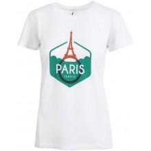 Tee-Shirt Wilson Femme Performance Paris Blanc
