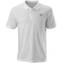 Polo Wilson Power Stripe Blanc