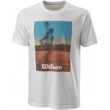 Tee-Shirt Wilson Scenic Tech Blanc