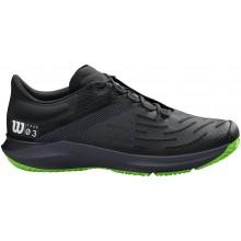 Chaussures Wilson Kaos 3.0 Toutes Surfaces Noires