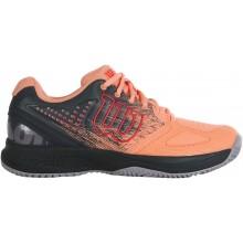 Chaussures Wilson Femme Kaos Comp 2.0 Toutes Surfaces Oranges
