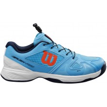 Chaussures Wilson Junior Rush Pro Toutes Surfaces Bleues