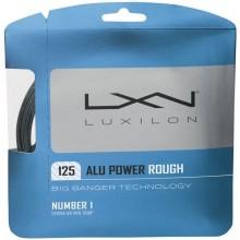Cordage Luxilon Big Banger Alu Power Rough Gris (12 Mètres)