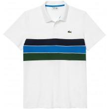 Polo Lacoste Lifestyle Blanc
