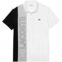Polo Lacoste Good Colorblock Blanc