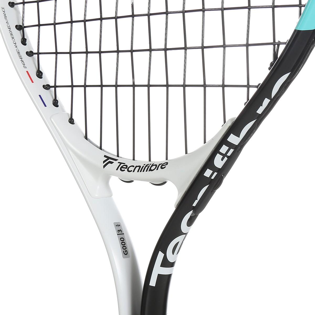 Tecnifibre T- Rebound 21 Blanc Raquette de Tennis Fille Taille Unique Entre 5 et 6 Ans