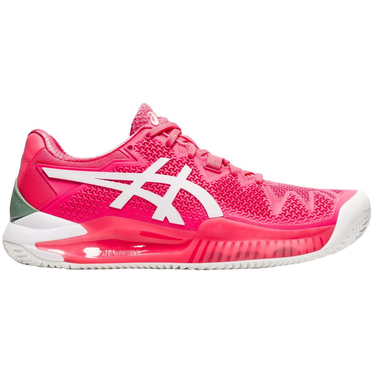 Chaussures Asics Femme Gel Resolution 8 Paris Terre Battue ...
