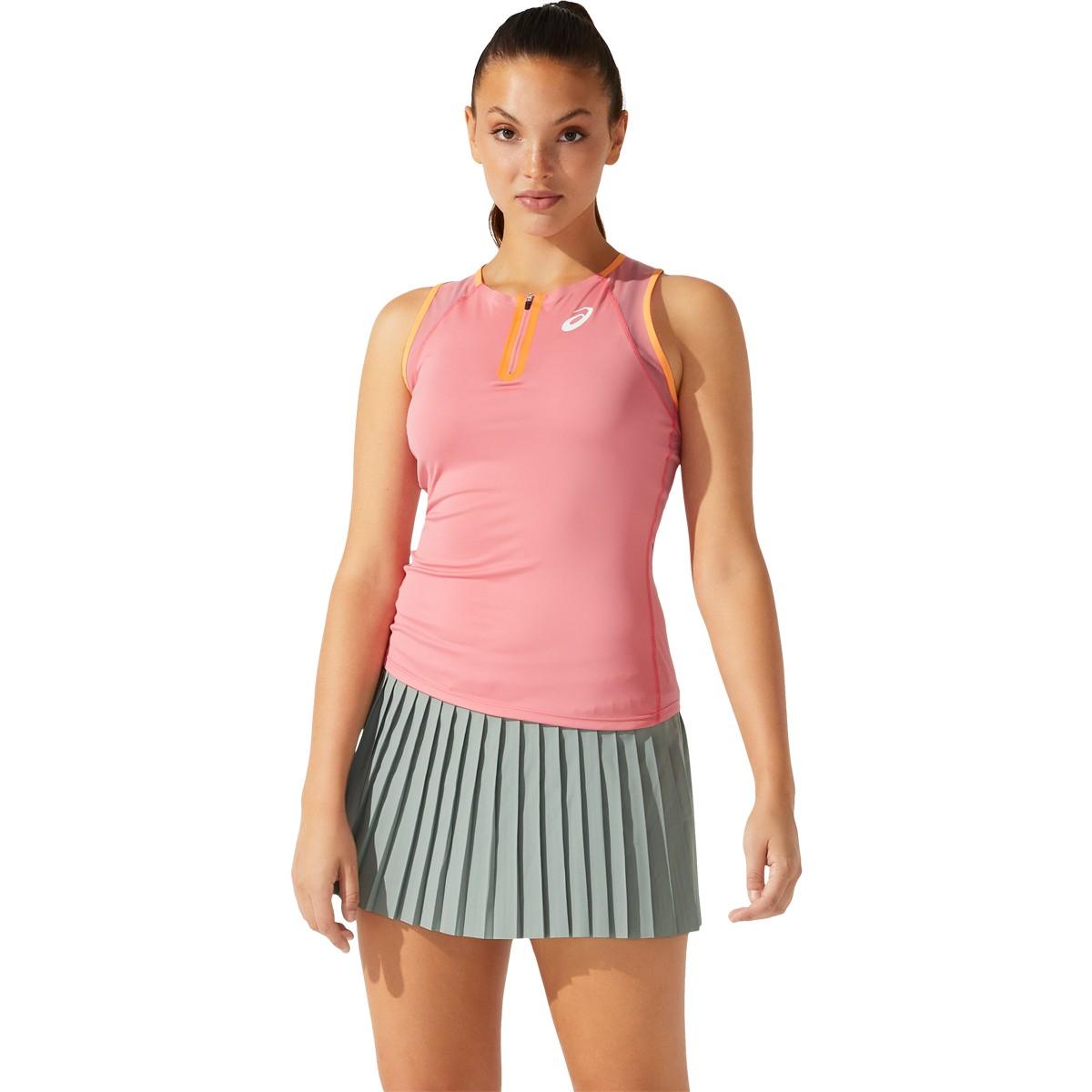 Débardeur Asics Femme Match Paris Rose - Debardeur - Tennis Achat