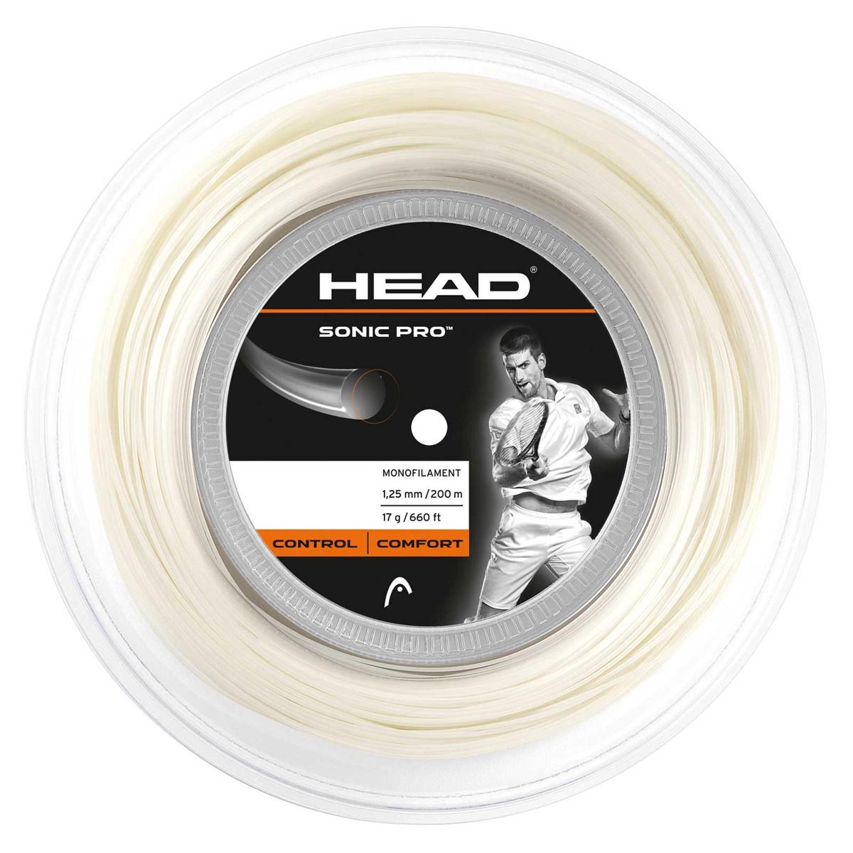 Bobine Head Sonic Pro 200m Blanche