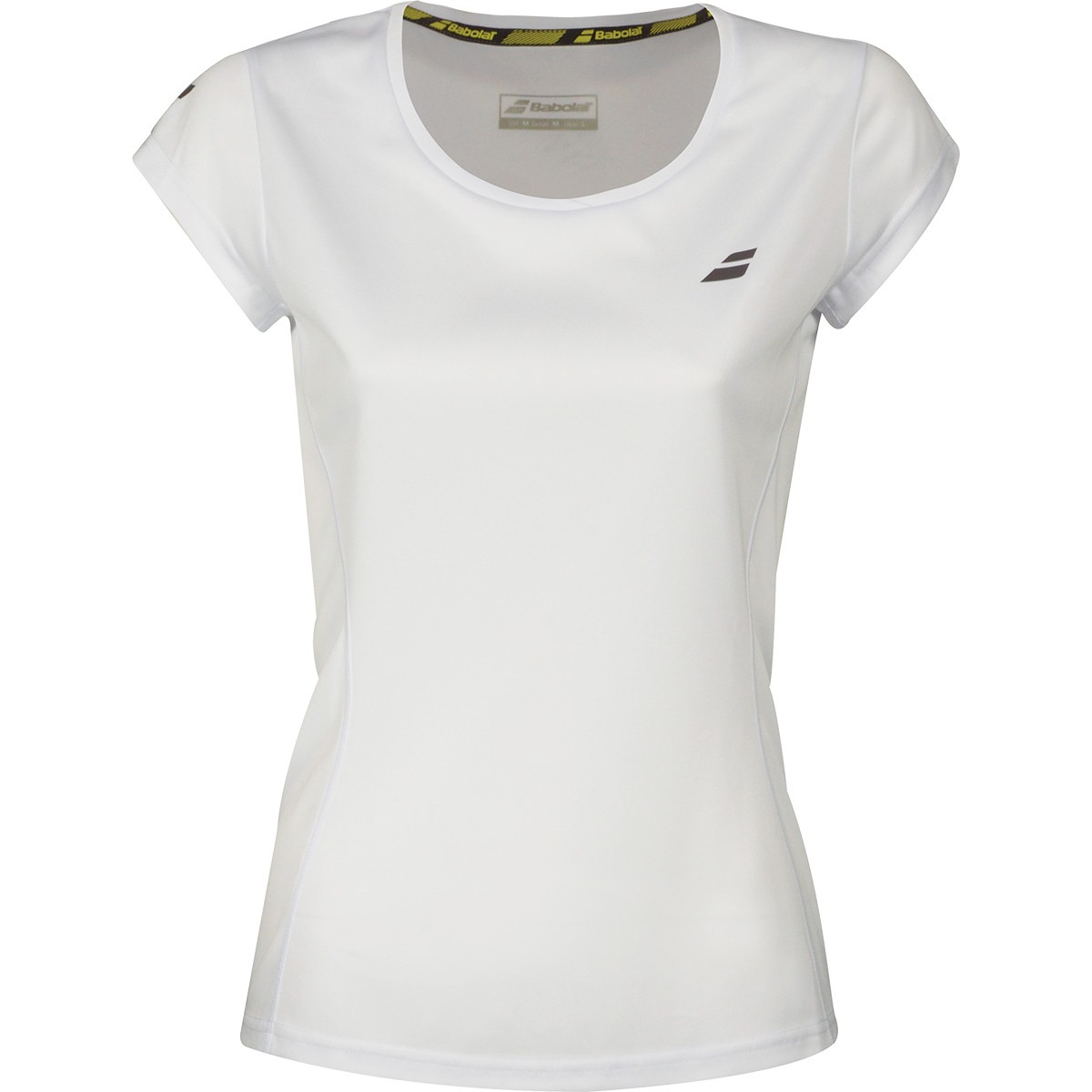 Tee-Shirt Babolat Femme Core Flag Club Blanc