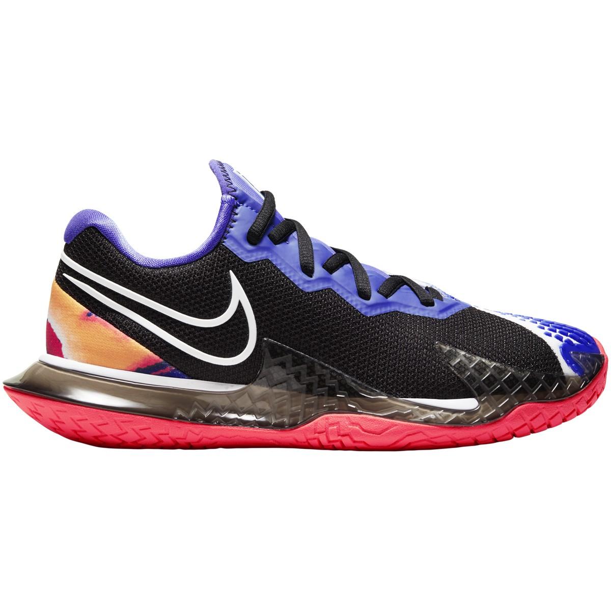 Chaussures Nike Femme Air Zoom Vapor Cage 4 Toutes Surfaces Noires