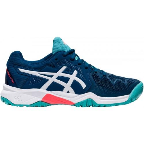 Chaussures  Junior Gel Resolution 8 GS Toutes Surfaces Bleues