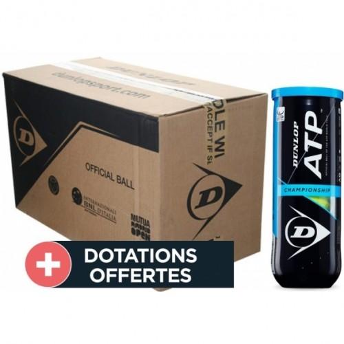 Carton De 24 Tubes De 3 Balles  ATP Championship
