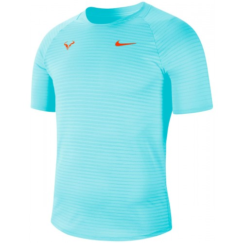 Tee-Shirt  Nadal Paris Aeroreact Turquoise