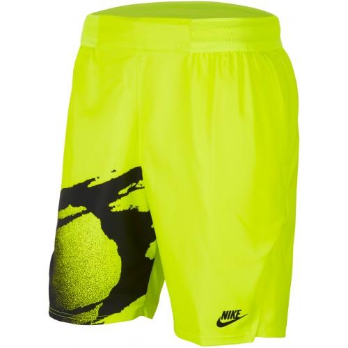 Short Nike  Court New-York Fluo