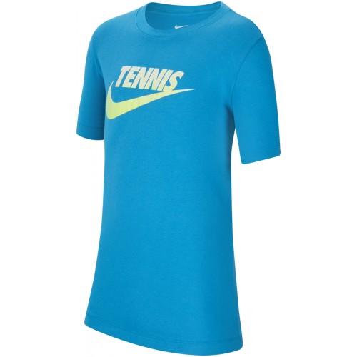 Tee-Shirt  Junior Tennis Graphic Bleu
