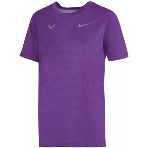 Tee-Shirt  Court Junior Garçon Rafa Violet