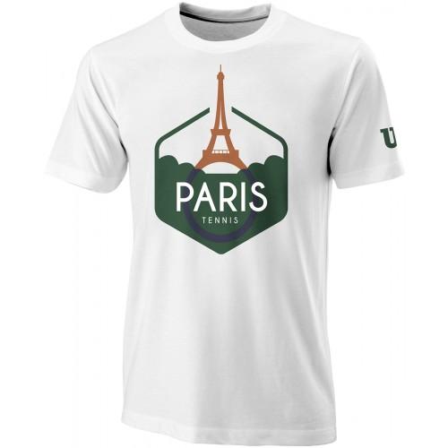 Tee-Shirt  Performance Paris Blanc